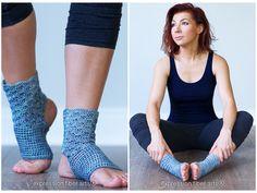 how to crochet yoga socks