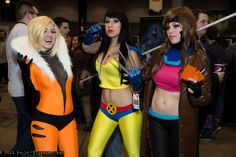 Female versions of Sabretooth, Wolverine, and Gambit!