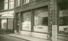 Hoogstraat. Benzo Rijwielfabriek. Hier werkte mijn vader als kleine jongen.