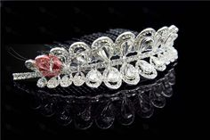 Gorgeous Alloy With Austria Rhinestones Wedding Bridal Tiaras & Wedding Headpieces
