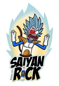 Rick and Morty x Saiyan Rick! - Rick and Morty x Saiyan Rick! Dragon Ball Z Iphone Wallpaper, Rick And Morty Crossover, Rick I Morty, Rick And Morty Poster, Ricky And Morty, Rick E, Geek Movies, Graffiti Characters, Cartoon Fan