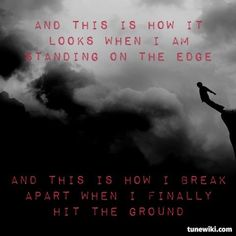 """""""Breathe Into Me"""" by Red; believe it or not the lyrics can be really uplifting, you just have to listen to the whole song :)"""