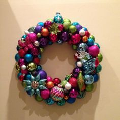 Amazing wreath made by Chris Butler.