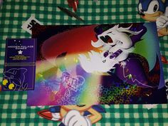 """Franchise: Undertale Size - 8.5 x5.5"""" Paper: Heavy Card Stock - Holographic Artist: SEGAMew Basis of Inspiration: The most emotional battle in the game """"Undertale"""". Free autograph can be requested on"""