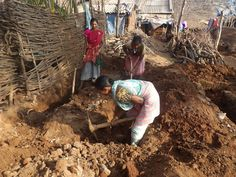 #FromtheField: With 33 of a planned 103 #toilets already finished, all 686 residents are on their way to a future more flush with promise. #health #sanitation #india #latrine #latrineproject