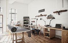 Matblac Leather Workshop.