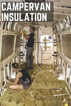Installing Camper Van Insulation for Van Life is easy task that too many overcomplicate. Wintertime, here we come! Here's how we insulated our DIY camper van...