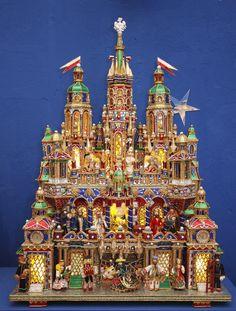 "polish christmas cribs | Christmas Cribs ""Krakowska szopka"""