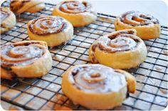 Nutella Crescent Cookies (uses refrigerator rolls)