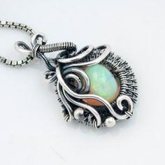 October Birthstone  Ethiopian Opal Jewelry   Fine by sarahndippity, $66.00