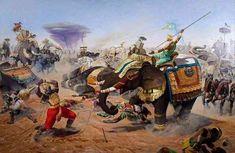 Shiva, War Elephant, Mythology Paintings, Krishna Art, Ganesha Art, Radhe Krishna, Italian Painters, Epic Art, Art Academy