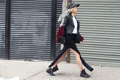 new-york-street-style-fashion-week-look-Soo-Joo-Park Grazia.it