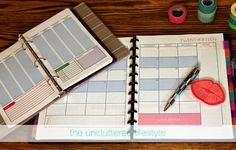 Let's get organized in 2015! Free Organizational Printables over at JonesCreekCreations.blogspot.com #freeprintables #bloggingprintables #organization2015