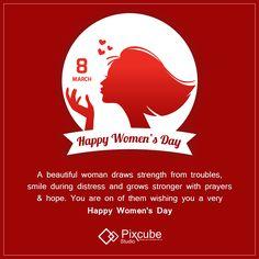 Pixcube Studio wishing you a very Happy Women's Day. #Pixcubestudio2017 #Pixcubestudio #Happy_Womens_Day