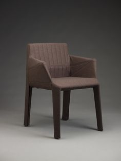 """Designed by the Bouroullec Brothers, manufactured by Ligne Roset (French), """"Facett armchair,"""" 2006; Indianapolis Museum of Art, Jane Weldon Myers Acquisition Fund, 2010.6"""