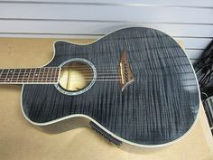 Dean Exotica FM TBK Acoustic Electric Guitar