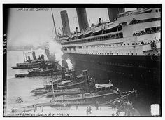 The SS Imperator, the Largest Passenger Ship in the WorldEdwardian ...