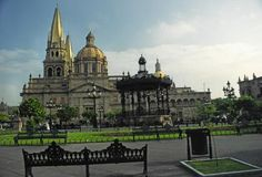 Guadalajara is noted for its historic architecture.