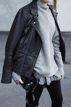Outfit: Layers of grey - C R U E L / T H I N G
