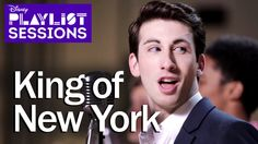 Newsies Cast | King Of New York Mash-Up | Disney Playlist Sessions <-- King of New York and Oliver and Company. This = Awesomeness.