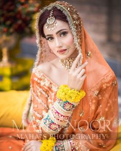 New Awesome Bridal Photoshoot of Zarnish Khan Bridal Mehndi Dresses, Bridal Dress Design, Wedding Dresses For Girls, Bridal Outfits, Bridal Style, Asian Wedding Dress Pakistani, Pakistani Bridal Makeup, Pakistani Dresses Casual, Pakistani Mehndi Dress