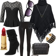Noir #fashion #style #look #dress #outfit #luxury #trend #mode #nobeliostyle