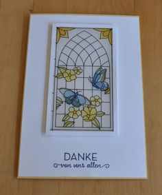 Painted Glass Stamp Set from Stampin' Up!'s Graceful Glass Suite