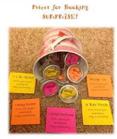 Booking Prizes for Parties  Events. Place Your Order Today at: https://jenlopmar.scentsy.us