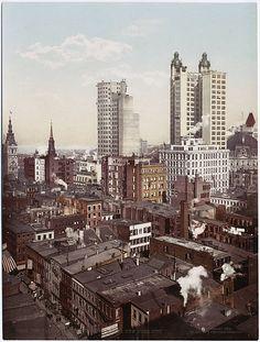 Postcard of Detroit, circa 1910