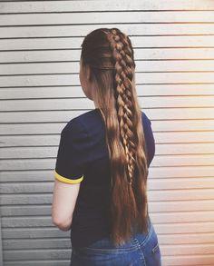Five strand braid, @nordic_braids https://instagram.com/p/BWCl8tYh52_/