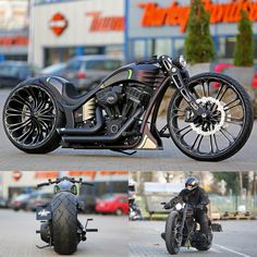 Thunderbike Production-R v2.0 - custom motorcycle with Harley-Davidson Screamin Eagle engine