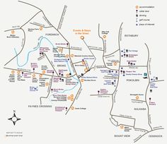 Our houses map - Hunter Valley