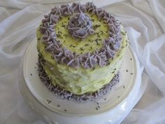 Cold Processed Lavender & Lemon Soap Cake Slices