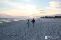 Unwind with a little family time on #InletBeach's peaceful stretch of sugar white sands! #SouthWalton