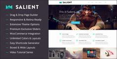 Salient - Stylish Responsive Multi Purpose WordPress Theme