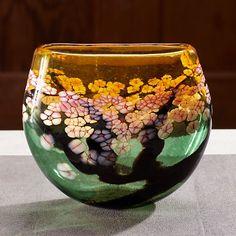 Robert Held Cherry Blossom Crucible Vase | Gump's