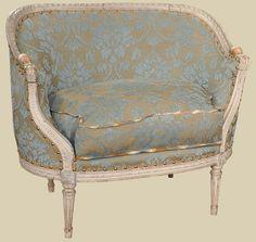 Recamiere biedermeier  Recamiere Empire um 1825 Biedermeier Sofa Canapé Tagesbett ...