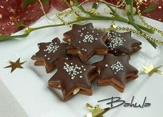 Christmas Sweets, Christmas Candy, Christmas Baking, Christmas Cookies, Czech Recipes, Desert Recipes, Gingerbread Cookies, Nutella, Baking Recipes