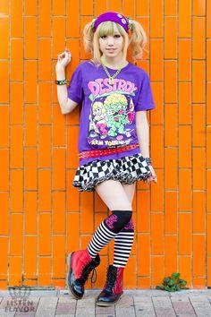 ポップファッション, 東京ファッション, ストリートファッション, 原宿の女の子, 原宿ファッション, 日本街路, カワイイスタイル, 日本人を回し,  健康