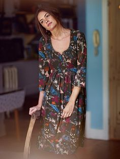 SIEMPRE DRESS £55.00 From White Stuff Clothing http://www.marketharboroughmagazine.co.uk/new-collection-from-white-stuff-late-summer-and-autumn/ #whitestuff #clothing #fashion