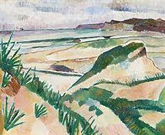"blastedheath: ""Grace Cossington Smith (Australian, Sand Dunes, Oil on cardboard, 35 x cm. Indigenous Art, Australian Artists, Art Auction, Dune, Watercolor Art, Pastel, Fine Art, Beach, Illustration"