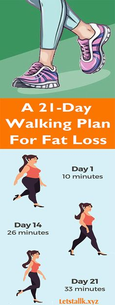 A 21-Day Walking Plan For Fat Loss #fitness #beauty #hair #workout #health #diy #skin #Pore #skincare #skintags #skintagremover #facemask #DIY #workout #womenproblems #haircare #teethcare #homerecipe