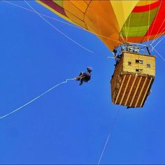 Sometimes when @devinsupertramp tells you to, you just jump! #ballonjumpin #TeamSuperTramp #findyourbliss