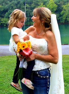 Blue jean wedding Jeans Wedding, Bike Wedding, Wedding Vows, Wedding Dresses, Blue Jean Wedding, Blue Jeans, Party, Clothing, Recipes