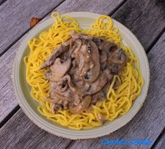 Carole's Chatter: Beef Stroganoff – A Classic Beef Strips, Garlic Oil, Egg Noodles, Beef Stroganoff, How To Cook Eggs, The Dish, Casserole Dishes, Stuffed Mushrooms, Cooking