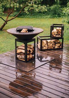 Fire Pit Grill, Fire Pit Backyard, Gazebo, Pergola, Outdoor Lounge, Outdoor Decor, Welding Art Projects, Bench Designs, Exterior