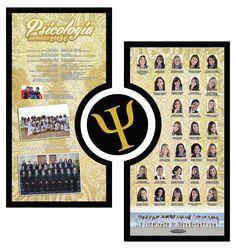 Placa de formatura, Psicologia UNIFACEX 2013.2