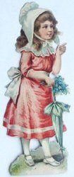 Erano rivolte in modo specifico a un pubblico infantile le sagome che propagandavano il cioccolato della ditta Pietro Viola