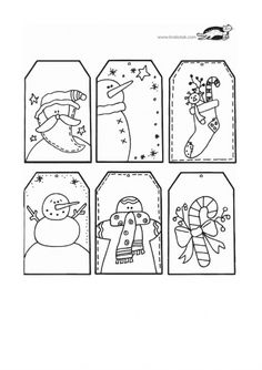 children activities, more than 2000 coloring pages Christmas Tag, Christmas Colors, Winter Christmas, Christmas Crafts, Christmas Ideas, Penny Rug Patterns, Snow Party, Christmas Worksheets, Christmas Material