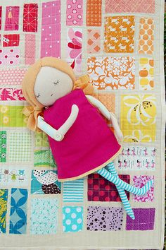 doll quilt!